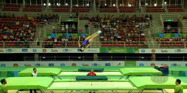 Olympic Trampoline Tickets