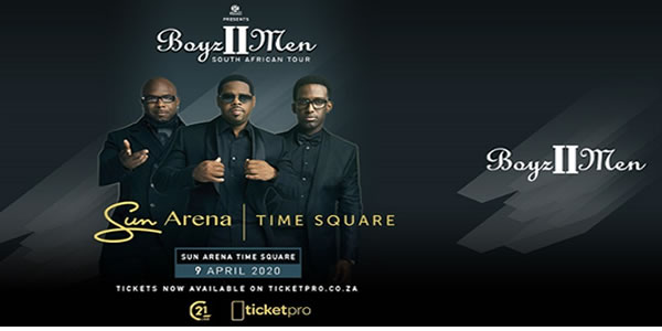 Boyz II Men Cape Town Tickets